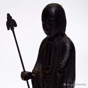 12th To 13th Century Wooden Jizō Bosatsu