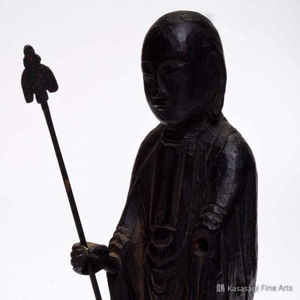 12th To 13th Century Wooden Jizō Bosatsu
