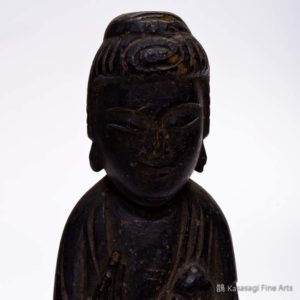 Antique Carved Amitabha Figurine