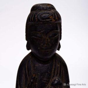 Antique Carved Amitabha Figurine