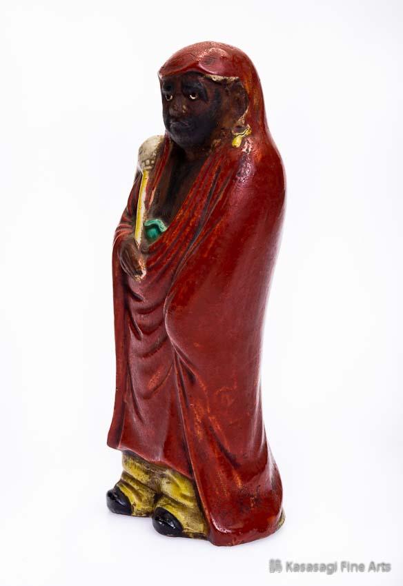 Late Meiji Kutani Daruma Bodhidharma