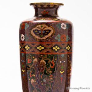 Ando Studio Cloisonne Vase