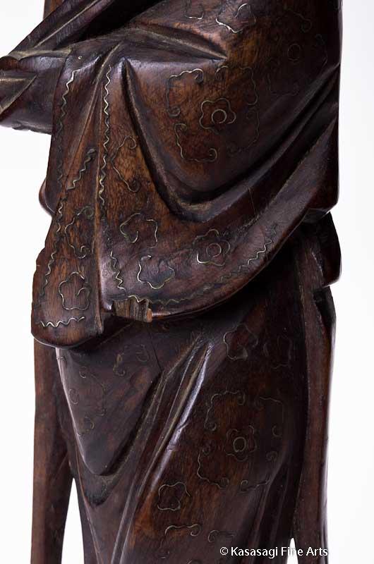 Antique Deity Shou Lao God of Longevity