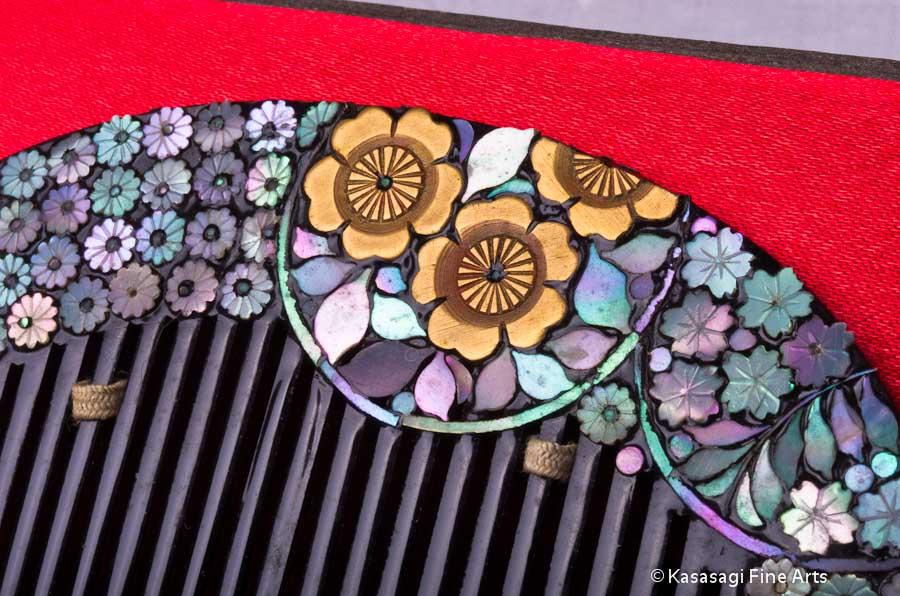 Antique Kanzashi Hair Decoration Set 2