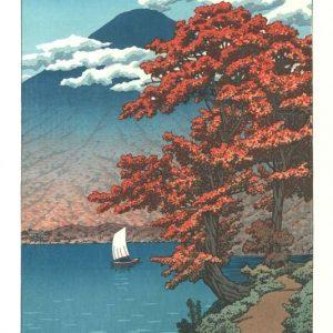 Kawasa Hasui Woodblock Print Lake Chuzenji