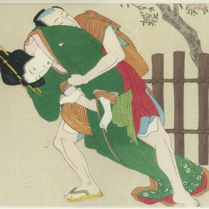 Erotic Japanese Woodblock Print 1