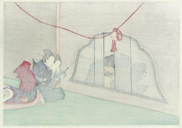 Erotic Japanese Woodblock Print 2