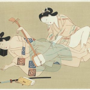 Erotic Japanese Woodblock Print 3