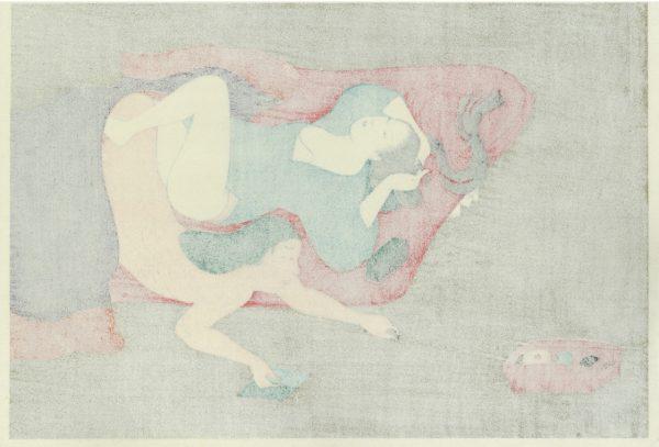 Erotic Japanese Woodblock Print 4