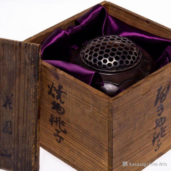 Edo Era Bronze And Silver Three Seasons Koro