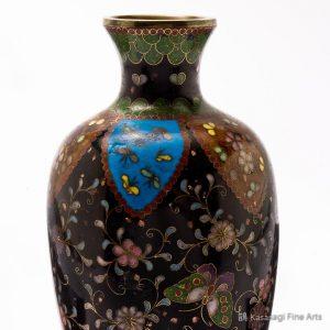 Meiji Era Classic Cloissone Vase