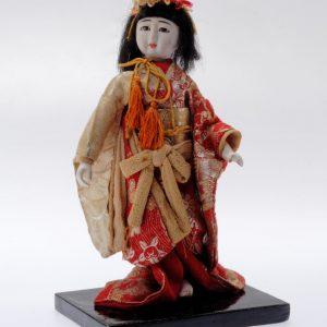 Antique Japanese Geisha Doll 1