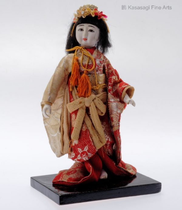 Antique Japanese Geisha Doll 1