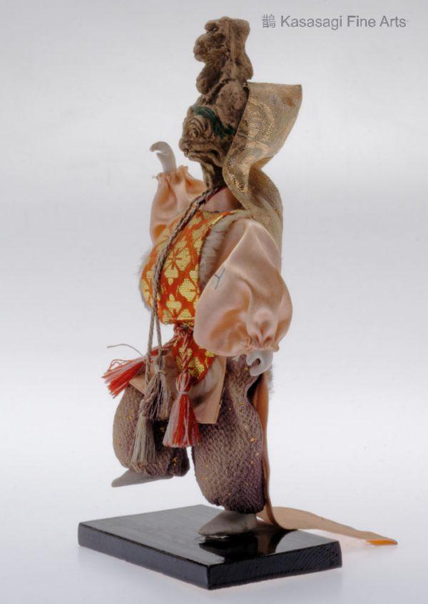 Antique Japanese Noh Theatre Doll