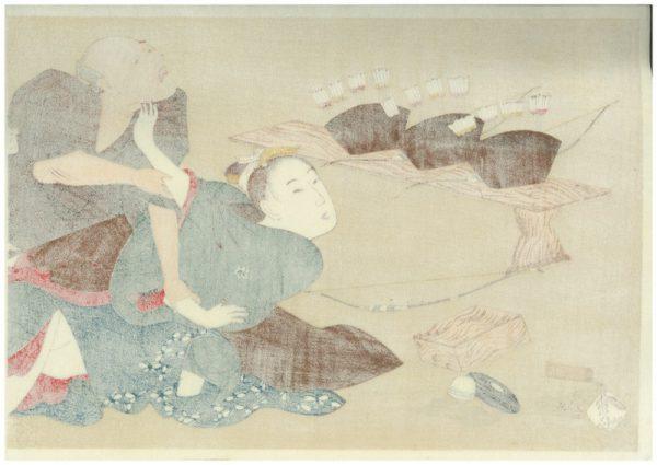 Erotic Japanese Woodblock Print 5