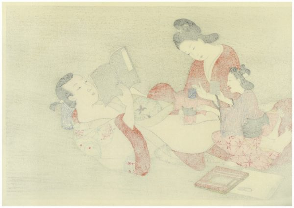 Erotic Japanese Woodblock Print 6