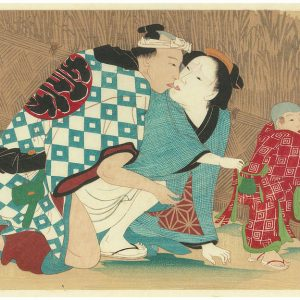 Erotic Japanese Woodblock Print 7
