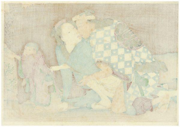 Erotic Japanese Woodblock Print 6