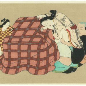 Erotic Japanese Woodblock Print 8