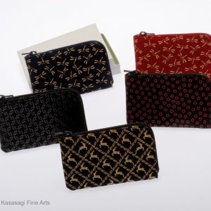 Inden-Ya Deerskin 2 Sided Coin or Card Purses