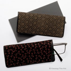 Inden-Ya Deerskin Lacquer Spectacle Cases