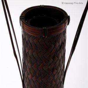 Tall Bamboo Ikebana Basket