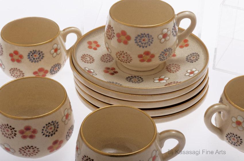 Rare 1920s Satsuma Tea Set